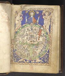 Map Of The World, In 'The Map Psalter'